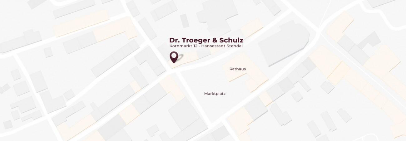 Anfahrt Troeger & Schultz